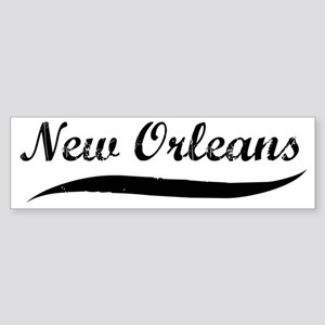 New Orleans (vintage] Bumper Sticker